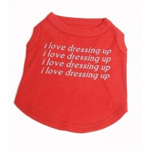 I Love dressing Up Dog and Cat T-Shirt
